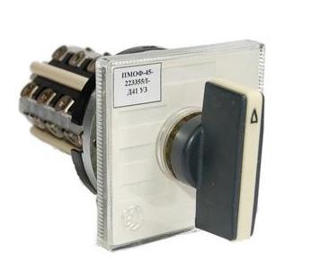 Переключатель ПМОФ-45-333456/I-Д25 У3